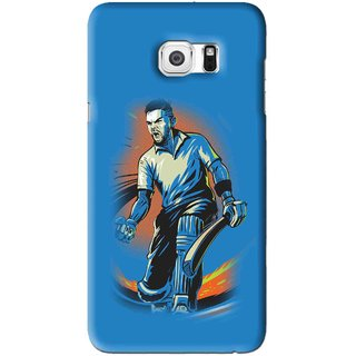 Snooky Printed I M Best Mobile Back Cover For Samsung Galaxy Note 5 Edge - Blues