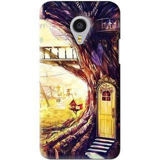 Snooky Printed Dream Home Mobile Back Cover For Meizu MX4 Pro - Multi