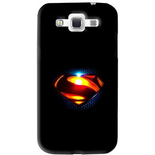 Snooky Printed Super Hero Mobile Back Cover For Samsung Galaxy 8552 - Black