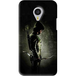 Snooky Printed Hunting Man Mobile Back Cover For Meizu MX4 Pro - Black
