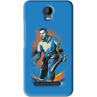 Snooky Printed I M Best Mobile Back Cover For Micromax Bolt Q335 - Blues