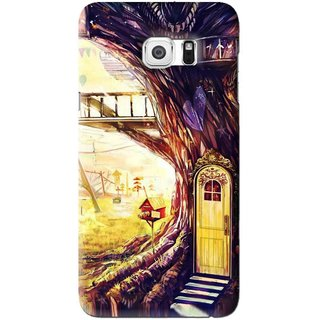 Snooky Printed Dream Home Mobile Back Cover For Samsung Galaxy Note 5 Edge - Multi