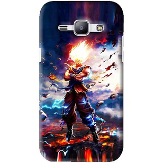 Snooky Printed In Anger Mobile Back Cover For Samsung Galaxy J1 - Multi