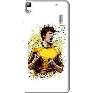 Snooky Printed I Win Mobile Back Cover For Lenovo K3 Note - White