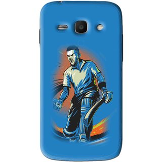 Snooky Printed I M Best Mobile Back Cover For Samsung Galaxy Ace 3 - Blues