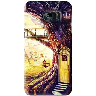 Snooky Printed Dream Home Mobile Back Cover For Samsung Galaxy S7 - Multi