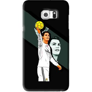 Snooky Printed I Win Mobile Back Cover For Samsung Galaxy Note 5 Edge - Black