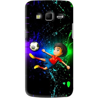 Snooky Printed High Kick Mobile Back Cover For Samsung Galaxy S3 - Multi