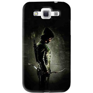 Snooky Printed Hunting Man Mobile Back Cover For Samsung Galaxy 8552 - Black