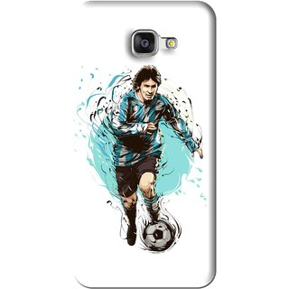 Snooky Printed Have To Win Mobile Back Cover For Samsung Galaxy A7 2016 - White