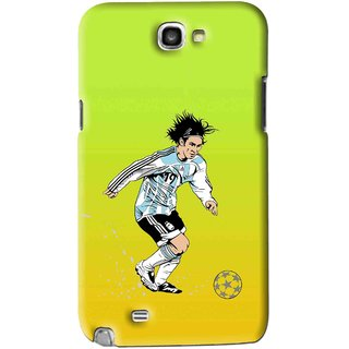 Snooky Printed Focus Ball Mobile Back Cover For Samsung Galaxy Note 2 - Multi