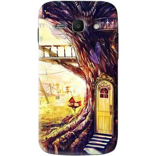 Snooky Printed Dream Home Mobile Back Cover For Samsung Galaxy Ace 3 - Multi