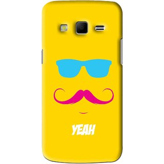 Snooky Printed Yeah Mobile Back Cover For Samsung Galaxy S3 - Yellow