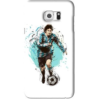 Snooky Printed Have To Win Mobile Back Cover For Samsung Galaxy Note 5 Edge - White