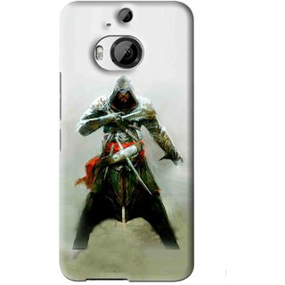 Snooky Printed The Thor Mobile Back Cover For HTC One M9 Plus - Green