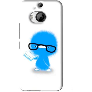 Snooky Printed My Teacher Mobile Back Cover For HTC One M9 Plus - White