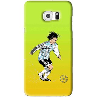 Snooky Printed Focus Ball Mobile Back Cover For Samsung Galaxy S6 Edge Plus - Multi