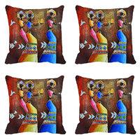 MeSleep Dancing Girls Digitally Printed Cushion Covers