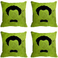 MeSleep Face Print Digitally Printed Cushion Covers