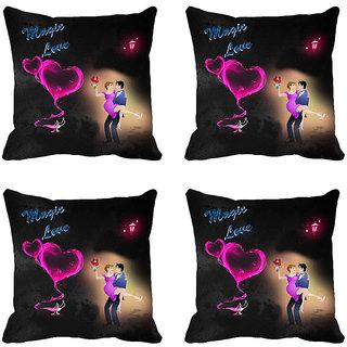 meSleep Magic Love Digitally Printed Cushion Covers