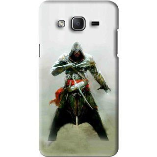 Snooky Printed The Thor Mobile Back Cover For Samsung Galaxy On7 - Green