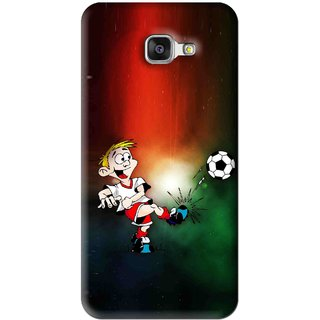 Snooky Printed My Passion Mobile Back Cover For Samsung Galaxy A7 2016 - Multi