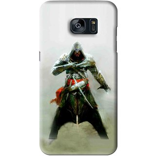 Snooky Printed The Thor Mobile Back Cover For Samsung Galaxy S7 - Green