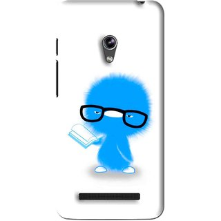 Snooky Printed My Teacher Mobile Back Cover For Asus Zenfone 5 - White