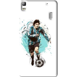 Snooky Printed Have To Win Mobile Back Cover For Lenovo K3 Note - White
