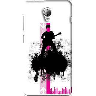 Snooky Printed Music In Air Mobile Back Cover For Lenovo Vibe P1 - Multi