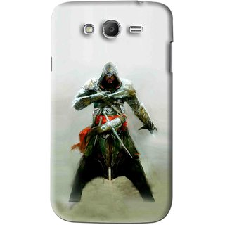 Snooky Printed The Thor Mobile Back Cover For Samsung Galaxy Grand 2 - Green