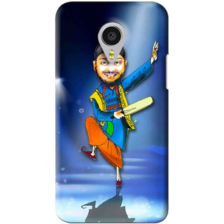 Snooky Printed Balle balle Mobile Back Cover For Meizu MX4 Pro - Blue