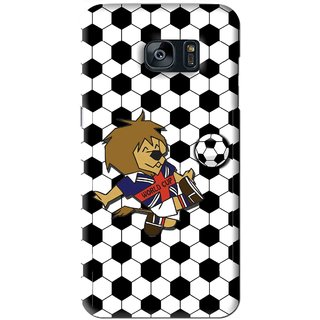 Snooky Printed Football Cup Mobile Back Cover For Samsung Galaxy S7 - Multi