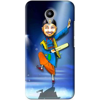 Snooky Printed Balle balle Mobile Back Cover For Meizu M1 Note - Blue