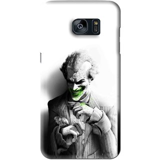 Snooky Printed Wilian Mobile Back Cover For Samsung Galaxy S7 - White