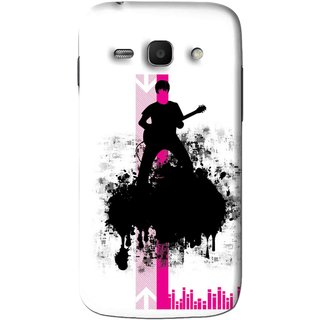 Snooky Printed Music In Air Mobile Back Cover For Samsung Galaxy Ace 3 - Multi