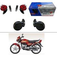 AutoStark Thai Bike Horn Set of 2 60B  Electric Shell Horn For Bajaj Pulsar AS 150