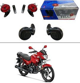 AutoStark Thai Bike Horn Set of 2 60B  Electric Shell Horn For Hero HF Dawn