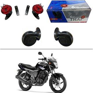 AutoStark Thai Bike Horn Set of 2 60B  Electric Shell Horn For Hero Splendor NXG