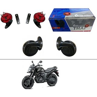 AutoStark Thai Bike Horn Set of 2 60B Electric Shell Horn For Bajaj Discover 150 f
