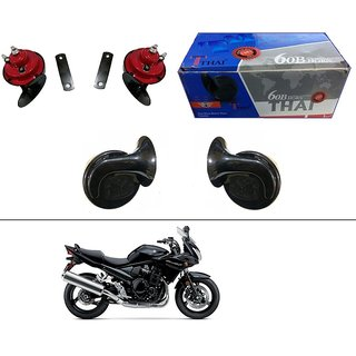 AutoStark Thai Bike Horn Set of 2 60B Electric Shell Horn For Bajaj Discover