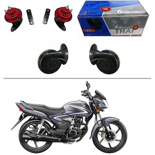 AutoStark Thai Bike Horn Set of 2 60B Electric Shell Horn For Bajaj Pulsar