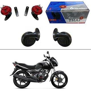 AutoStark Thai Bike Horn Set of 2 60B  Electric Shell Horn For Hero Karizma ZMR