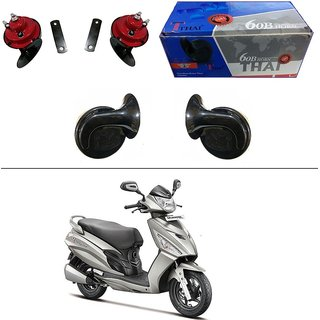 AutoStark Thai Bike Horn Set of 2 60B Electric Shell Horn For Bajaj Pulsar 135 LS DTS-i