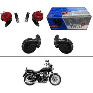 AutoStark Thai Bike Horn Set of 2 60B Electric Shell Horn For Bajaj CT 100
