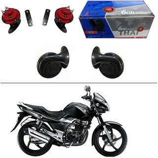 AutoStark Thai Bike Horn Set of 2 60B Electric Shell Horn For Bajaj Pulsar 180 DTS-i