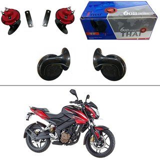 AutoStark Thai Bike Horn Set of 2 60B Electric Shell Horn For Bajaj Pulsar 150