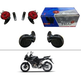 AutoStark Thai Bike Horn Set of 2 60B  Electric Shell Horn For Mahindra Duro