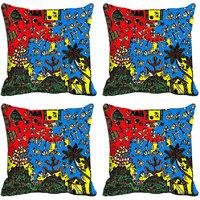 MeSleep Multi Worli Digitally Printed Cushion Covers
