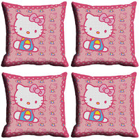 MeSleep Kitty Digitally Printed Cushion Covers